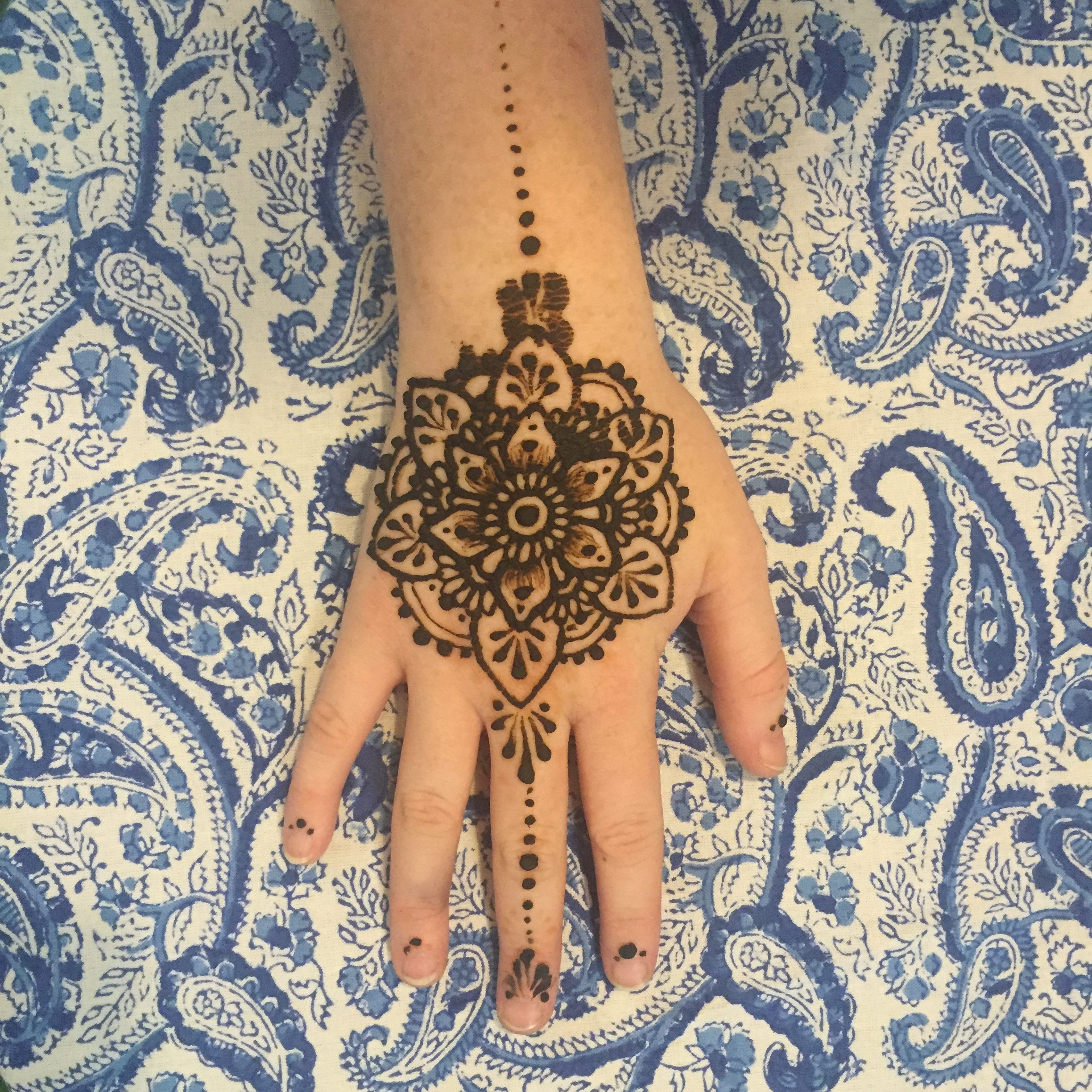 Henna And Tattoo Art: Henna Tattoos July 8th 5-8 With Ally